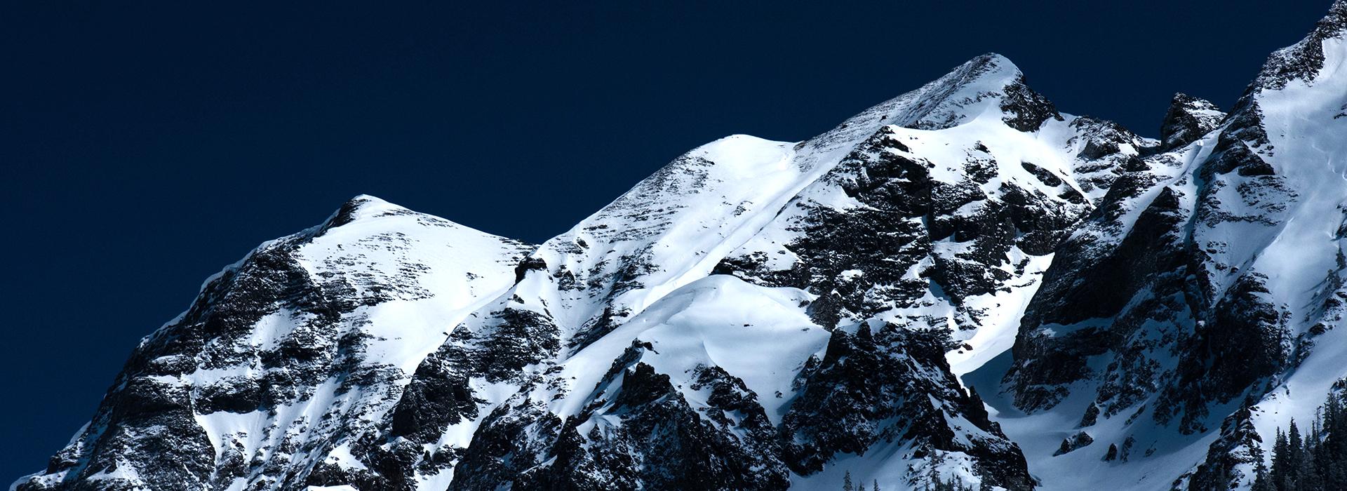 Rocky Mountains in Ouray, Colorado