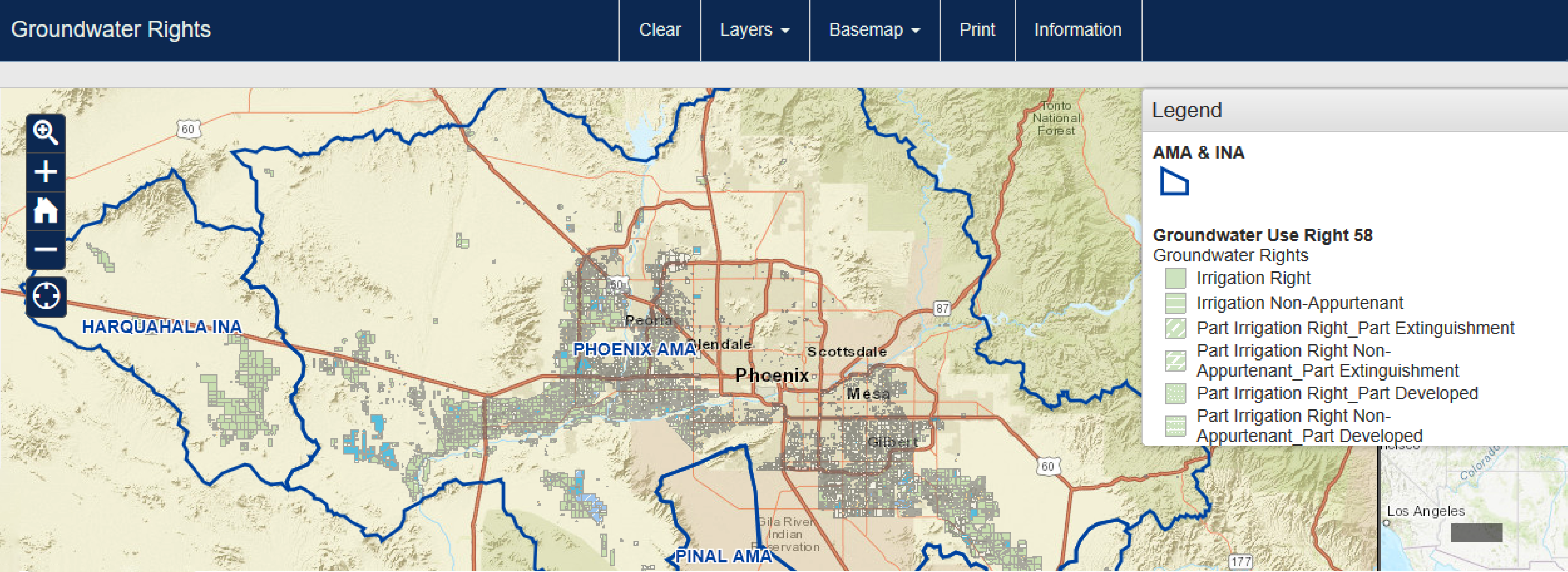 Interactive tool for searching groundwater-rights information now live on ADWR website