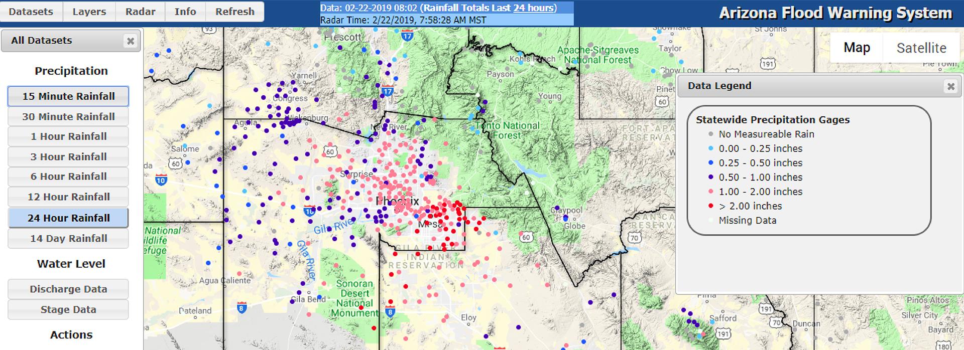 Interactive precipitation map makes following storms fun!