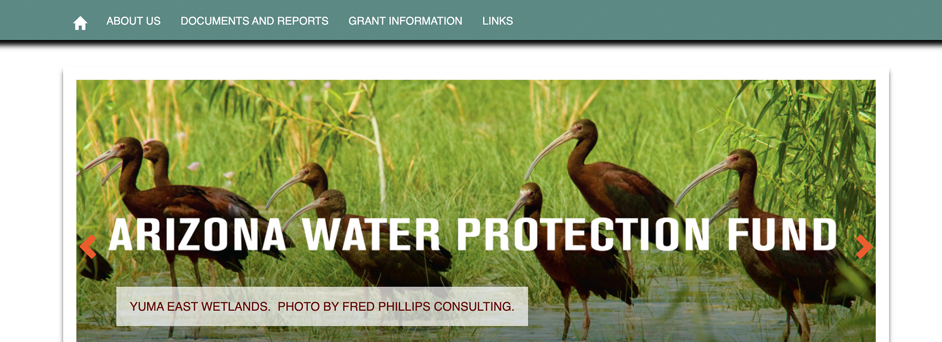 Arizona Water Protection Fund New Website
