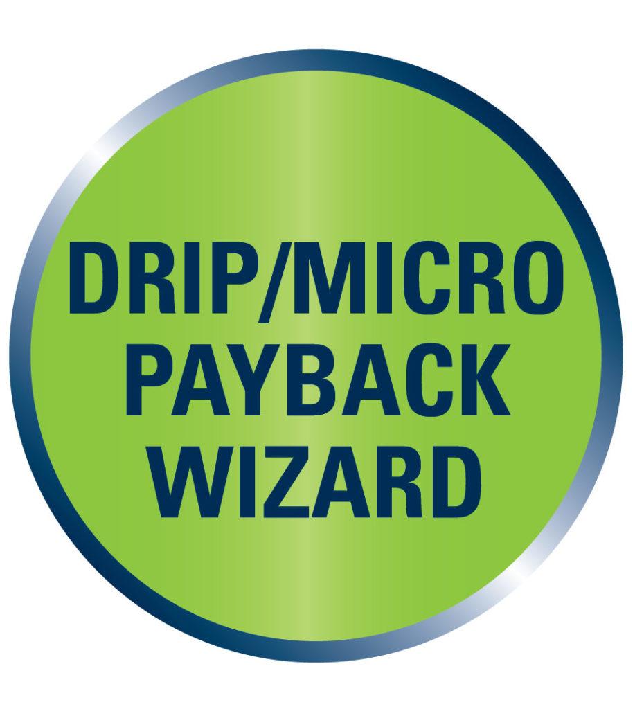 Drip Micro Payback Wizard