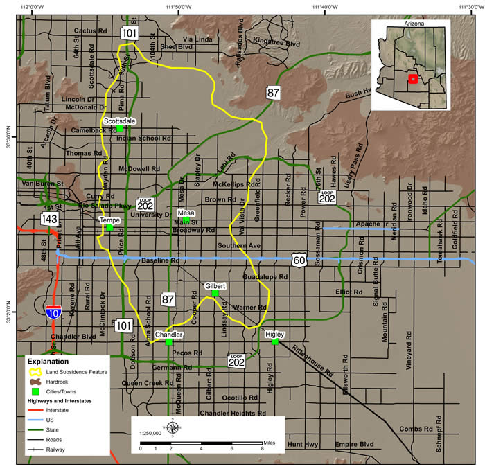 East Valley Land Subsidence