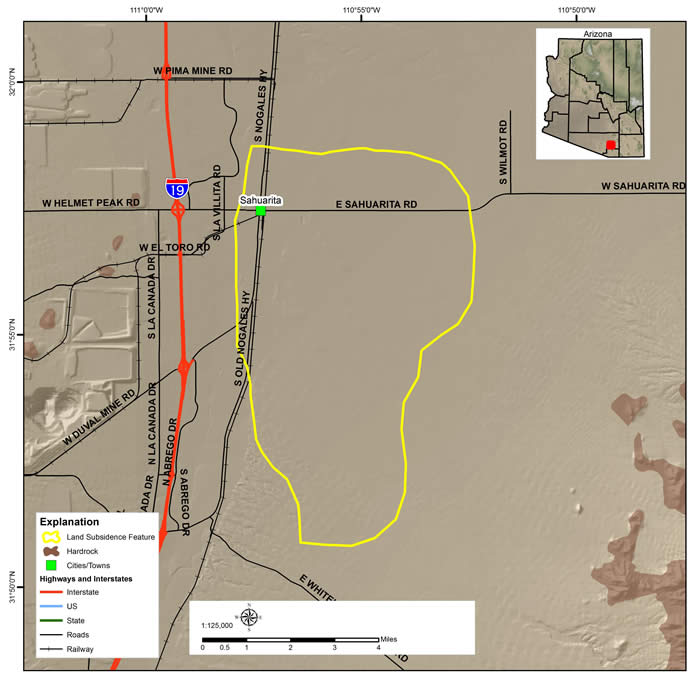 Green Valley Land Subsidence