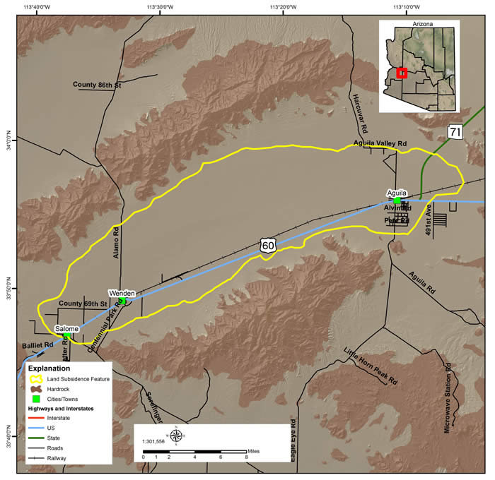 McMullen Valley Land Subsidence