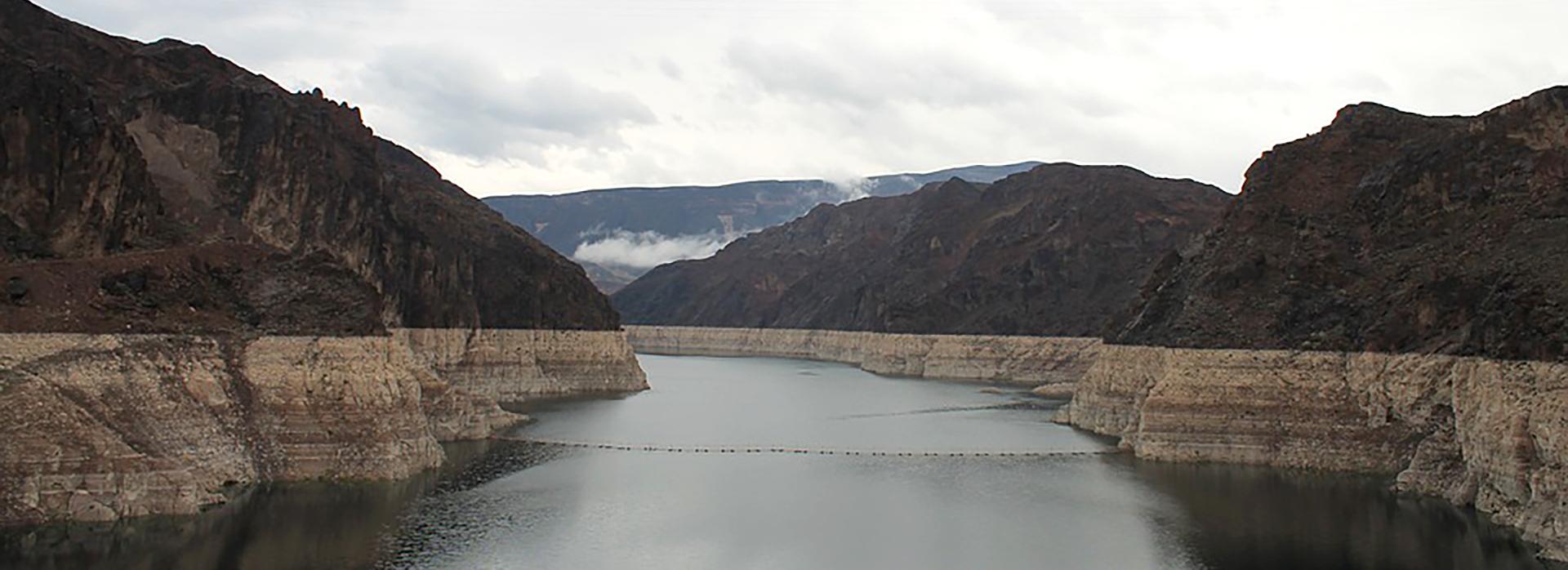 Lake mead cloudy