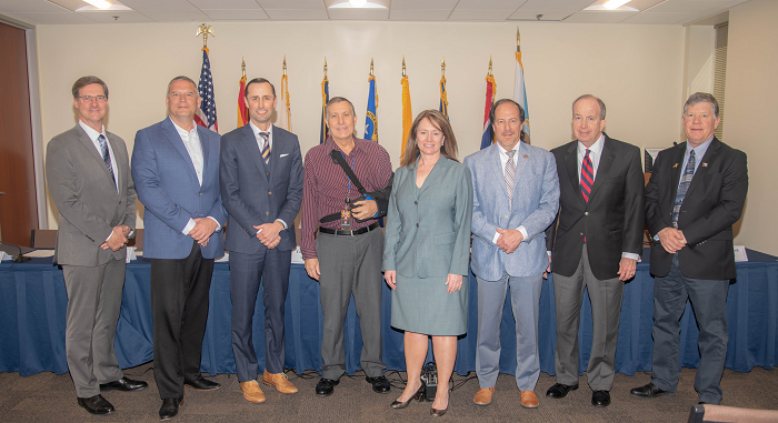 Governor's representatives of the seven Colorado River Basin States and key water districts