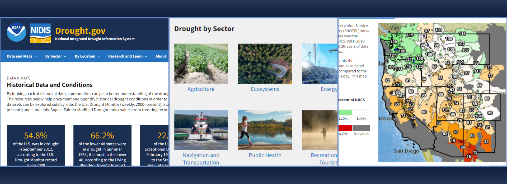 Drought.gov new website